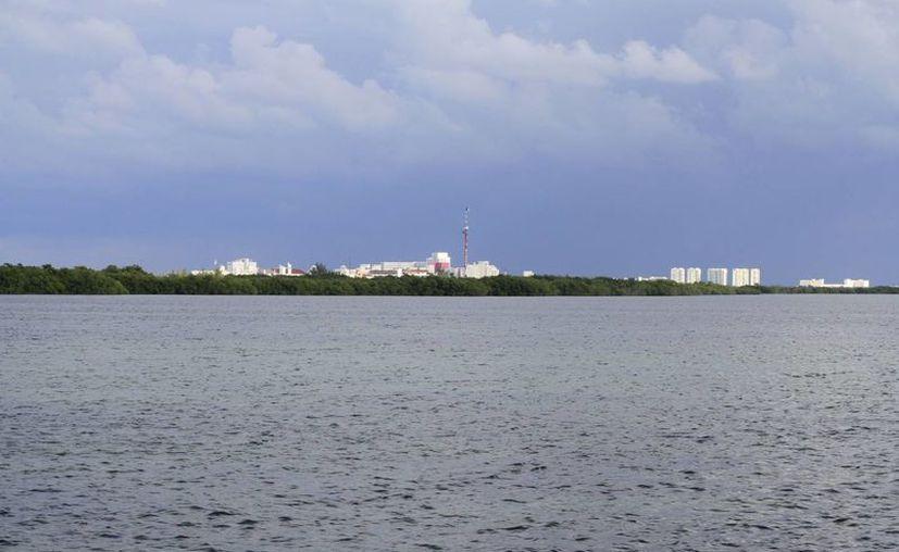 El dragado de la zona dañará el manglar de la laguna. (Sergio Orozco/SIPSE)