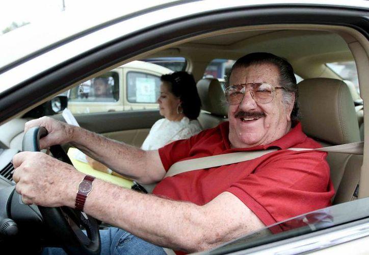 El velorio del actor Pedro Weber, 'Chatanuga', se lleva a cabo en estos momentos en la Ciudad de México. La cremación se realizará este miércoles en la mañana. (Notimex)