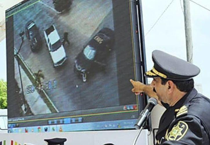 Con la videovigilancia se refuerza la seguridad en el Estado. (Milenio Novedades)