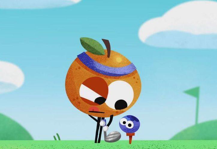 En los mini juegos podrás competir en diferentes deportes usando a cada una de las frutas disponibles.(Captura de pantalla)