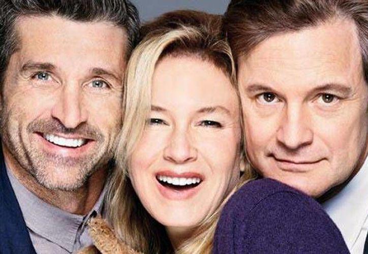 Patrick Dempsey, Renée Zellweger y Colin Firth protagonizarán la tercera entrega de Bridget Jones. (Imagen tomada de cinemags.id)