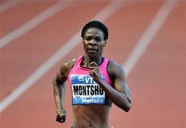 Amantle Montsho terminó cuarta el martes en la final de los 400 metros en los Juegos de la Mancomunidad en Glasgow. (Foto:The Associated Press)