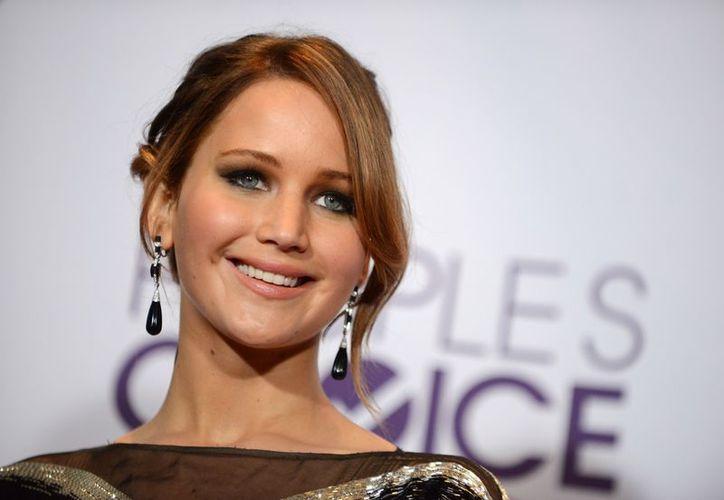Jennifer Lawrence, elegida como mejor actriz en los Peoples Choice. (Agencias)