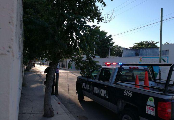 Los habitantes de la zona piden más vigilancia policíaca. (Sara Cauich/SIPSE)