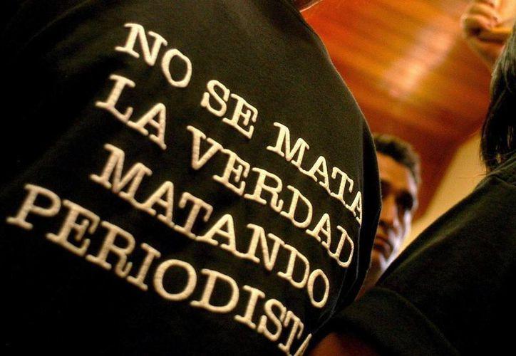 Antioquia, Santander, Cauca, Sucre y Córdoba son las regiones colombianas de mayor riesgo para el ejercicio del periodismo. (EFE)
