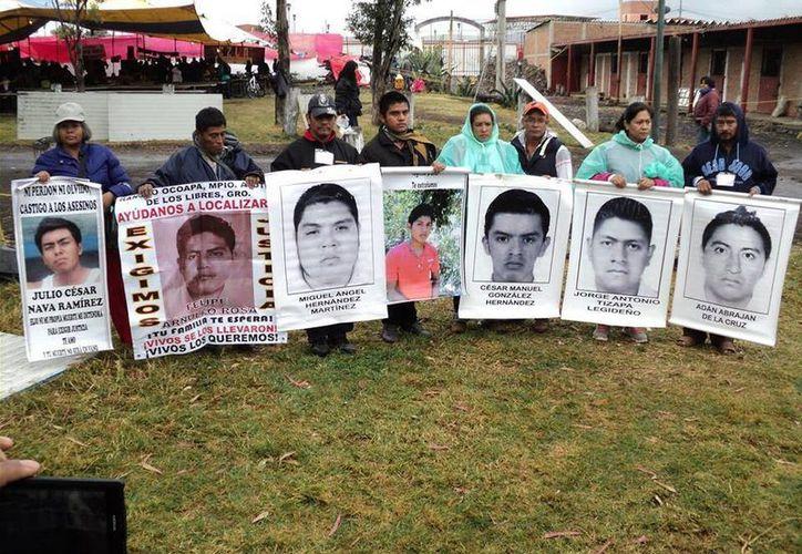 Se espera que los familiares de los 43 estudiantes desaparecidos participen en varias protestas en la ciudad de Nueva York. (Facebook/Ayotzinapa Vive)