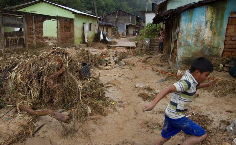 En la comunidad de La Pintada se reporta una población de 600 personas. (Notimex)