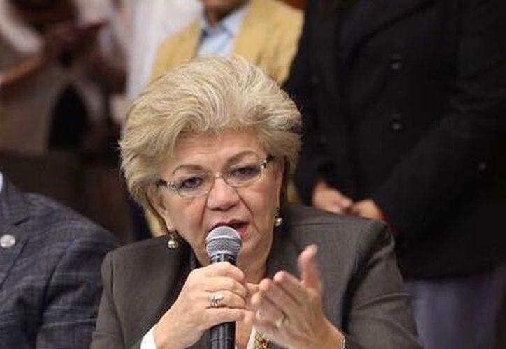 Lucely Alpizar agradeció el apoyo para la construcción del distribuidor vial de Baca. (Foto: Cortesía)