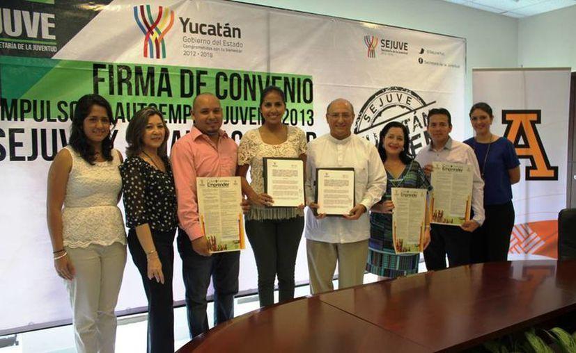 El Gobierno destinó 50 mil pesos para el apoyo de emprendedores en universidades del Estado. (Cortesía)