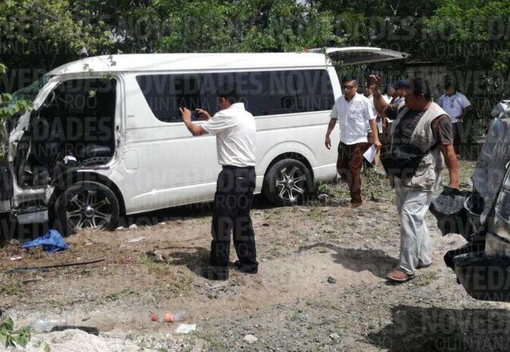 Varias unidades de rescate se movilizaron en la zona para atender a los lesionados. (Pedro Olive)
