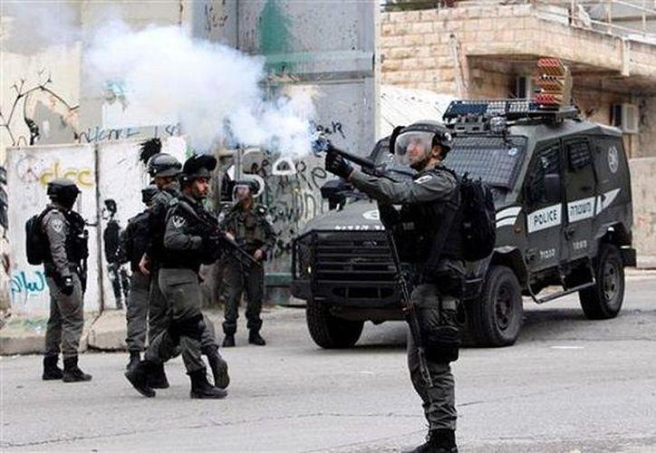 El ejército de Israel mantiene fuerte presencia en Hebrón. (Redacción/SIPSE)