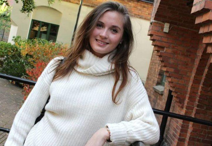 Hanna Bouveng, de 25 años, fue despedida de Global Group por su jefe Benjamin Wey, y aun así siguió acosándola. (Foto: www.sverigesradio.se)