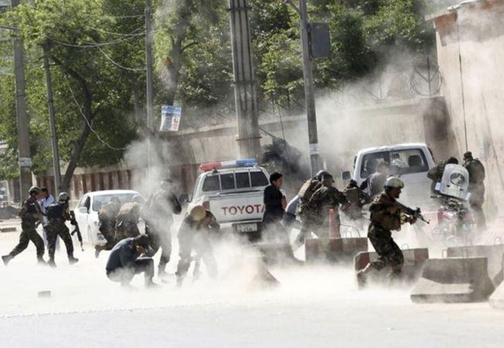 Los suicidas se transportaban en motocicletas y cuando estaban en movimiento accionaban la detonación. (Foto: AP).