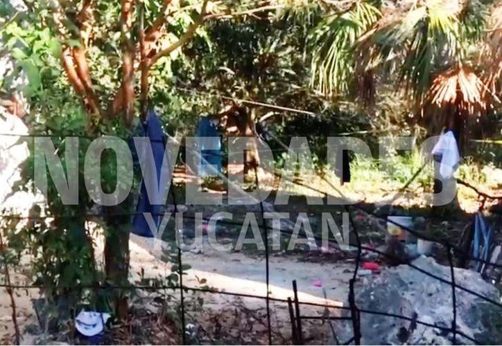 El suicidio tuvo lugar en el patio del predio ubicado en la calle 25 entre 10 y 12 de la colonia San Juan de Motul. (Novedades Yucatán)