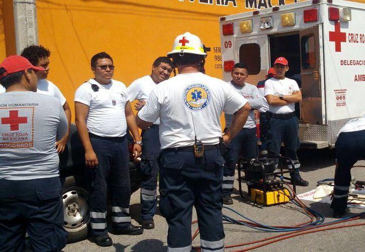 En Mérida, se imparten cursos de capacitación para los rescatistas. (Milenio Novedades)