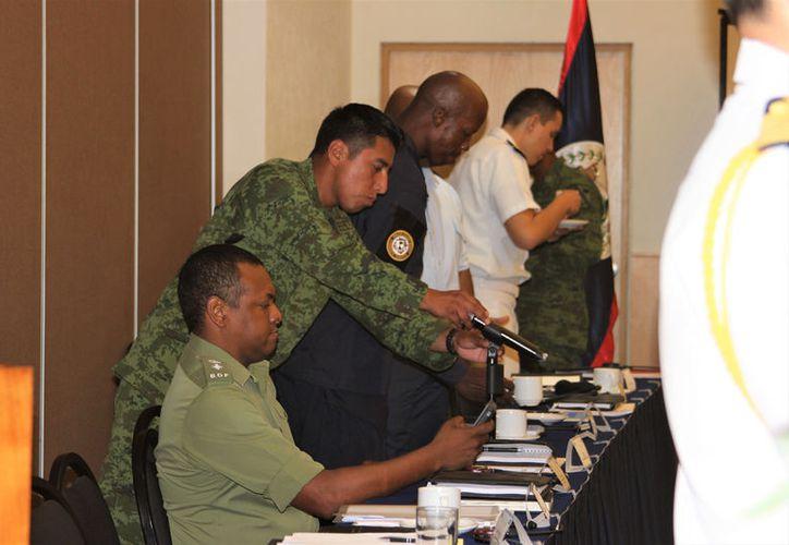 Se llevó a cabo la XI Junta de Comandantes Fronterizos México-Belice. (Foto: David de la Fuente)