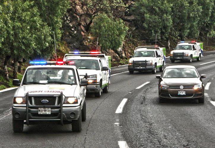 Los Ángeles Verdes ponen a disposición de los turistas el número gratuito de atención 088. (tamaulipas.gob.mx)