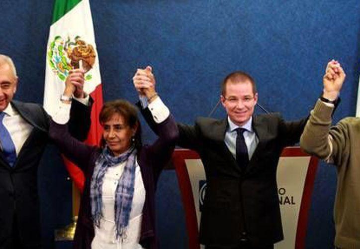 Luisa María Calderón reconoció la generosidad de otros aspirantes a la candidatura del PAN al gobierno michoacano. (pan.org.mx)