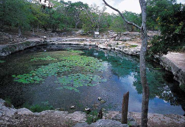 Comprueban la teoría de que la bóveda del cuerpo de agua se vino abajo. (Imagen tomada de www.mexicodesconocido.com.mx)