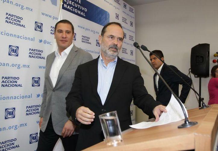 Gustavo Madero sostuvo que las reformas a favor de la democracia y la transparencia siempre fueron aprobadas gracias a la intervención del PAN. (Archivo/Notimex)
