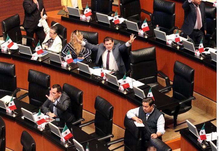 La medida se aprobó con los votos del Morena, MC, PVEM, PT, PES y PRD. (Agencia Reforma)