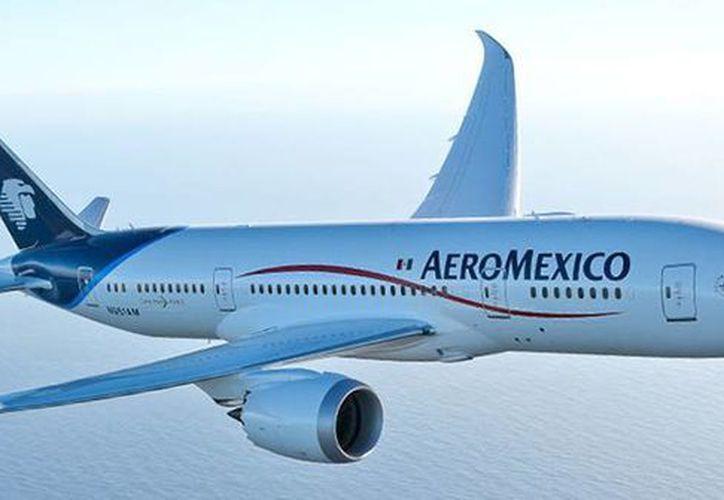Aeroméxico se suma a otras cuatro empresas aéreas que han suspendido sus viajes a Venezuela a consecuencia de la dura crisis económica que afecta al país bolivariano. (Aeroméxico)