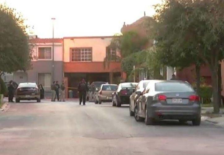 Las autoridades ignoran el móvil del asesinato de una joven de 14 años registrado en la colonia Cumbres San Agustín en la capital neoleonesa. (Excélsior)