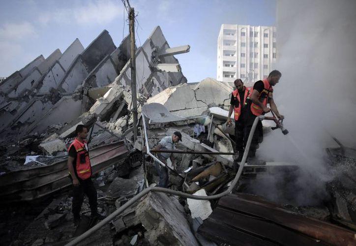 Durante el conflicto de 50 días con Palestina, Israel derribó dos aviones no tripulados enviados desde la franja de Gaza. (AP)