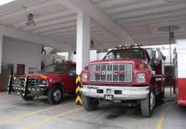 La estación de bomberos de Benito Juárez tiene carencias. (Redacción)