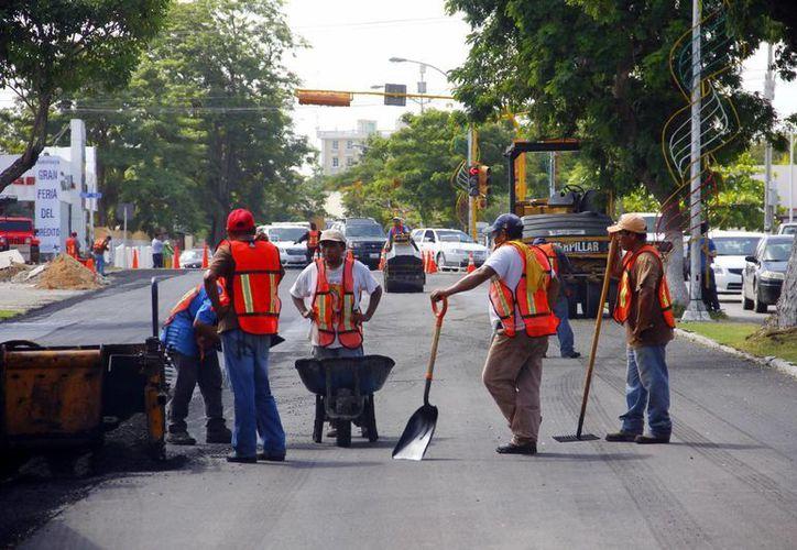 En Mérida se lleva a cabo la repavimentación de importantes calles. (SIPSE)