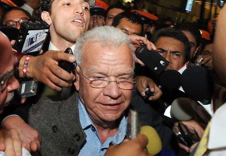 Granier fue detenid en junio del 2013 por la PGR  por su presunta responsabilidad en los delitos de operaciones con recursos de procedencia ilícita y defraudación fiscal. (Archivo/EFE)