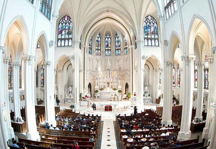 Basílica de la Inmaculada en Denver, donde sera la ceremonia. (Milenio Novedades)