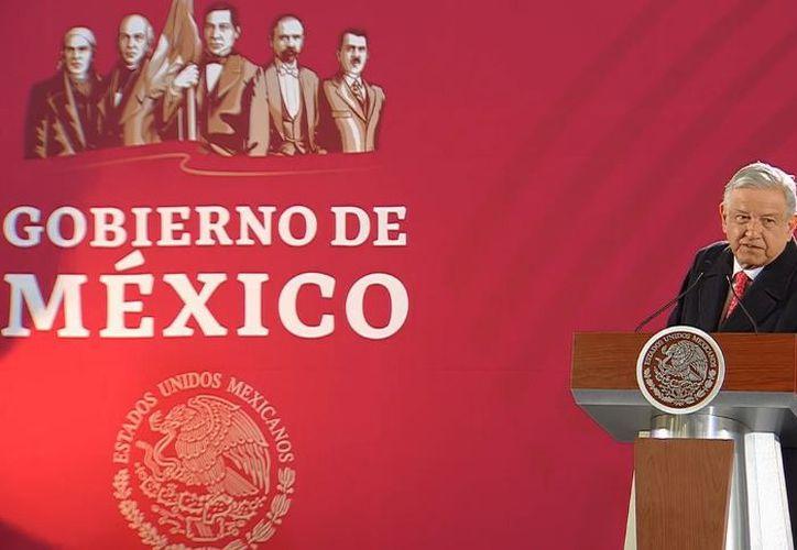 Durante su conferencia de prensa matutina, el presidente de la Nación dijo que no se va pelear con algún organismos. (Foto: Internet)