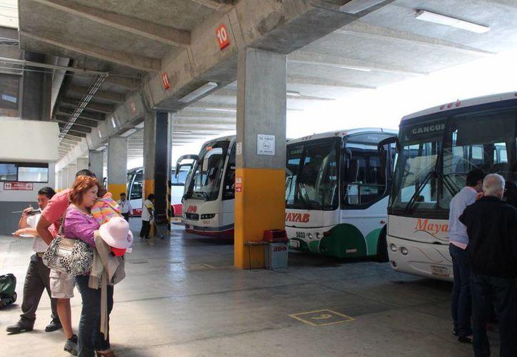 La empresa apoya la economía de las familias que usan el transporte. (Paloma Wong/SIPSE)