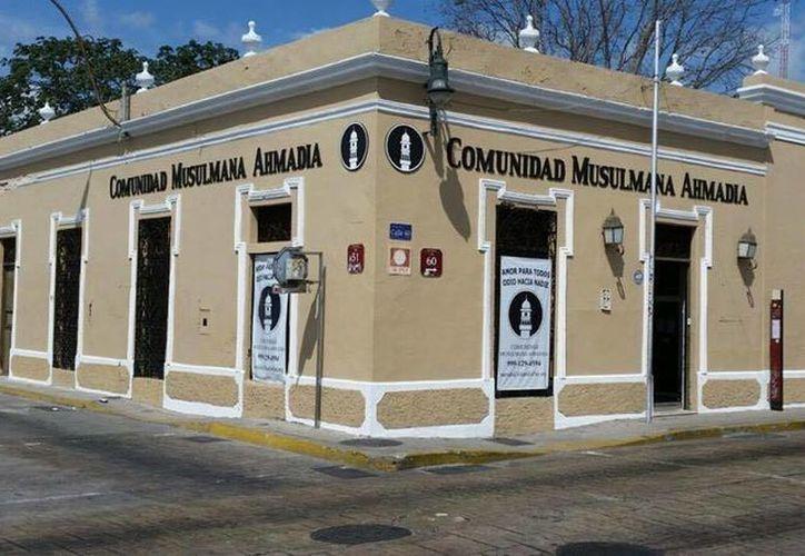 La Comunidad Musulmana Ahmadía, cuya sede en Mérida aparece en la imagen, llegó a la ciudad en noviembre de 2014. (Facebook/Comunidad Musulmana Ahmadía)