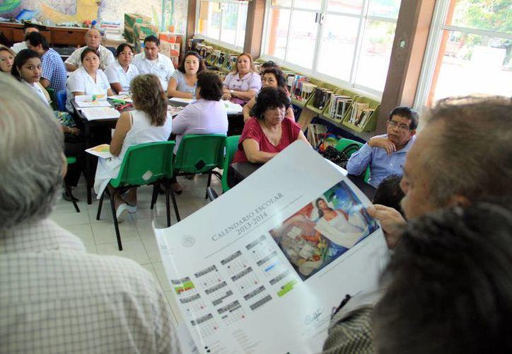 Los maestros sostendrán una reunión mañana. (Milenio Novedades)