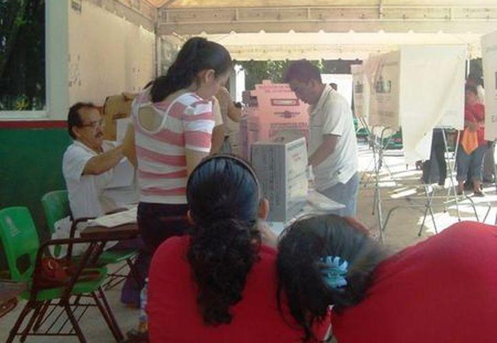 Cerca de siete mil quintanarroenses serán capacitados para las labores electorales del próximo año. (Redacción/SIPSE)