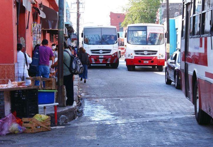 Los transportistas presionarán para que las autoridades los escuchen. (SIPSE/Archivo)