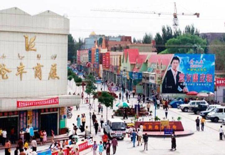 Vista de Luntai, ciudad de China que el fin de semana pasado, registró atentados terroristas. La policía abatió a 40 personas implicadas en los atentados. La foto es de contexto. (scmp.com)