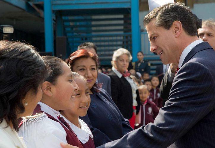 El Gobierno de la República destacó la evaluación de los maestros como un instrumento para mejorar la calidad educativa y el futuro de los niños mexicanos. (Archivo/Notimex)