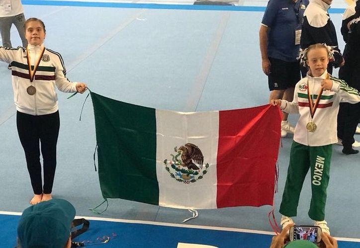 María Bárbara 'Bibi' Wetzel ha ganado antes 13 medallas en diferentes competencias internacionales. (Milenio)