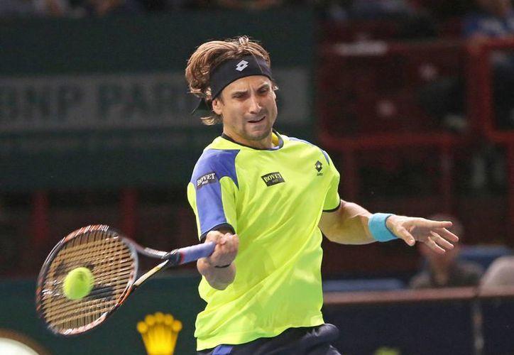 Ferrer (foto) derrotó a Gilles Simon por parciales de 6-2 y 6-3. (Agencias)