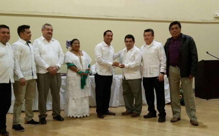 La Federación de Clubes Yucatecos del Norte de California (FCYNC) celebró su séptimo aniversario, en el que estuvieron presentes distintas autoridades. (Milenio Novedades)