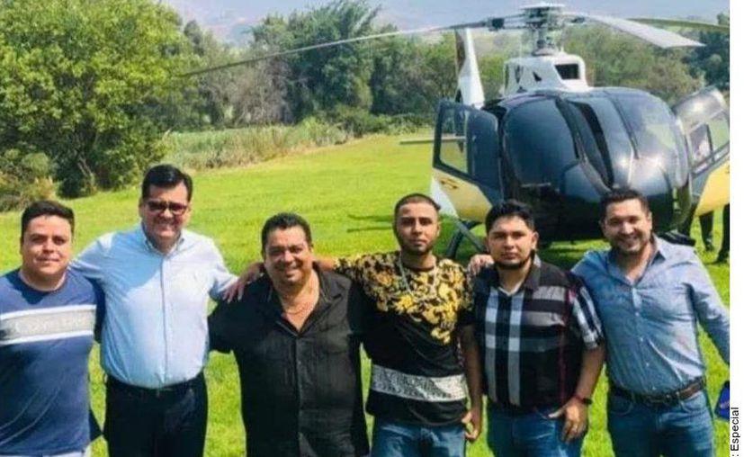 """El perredista, también conocido como """"Profe Gama"""", confirmó este festejo tras la difusión de fotografías del evento en algunos medios locales. (Agencia Reforma)"""