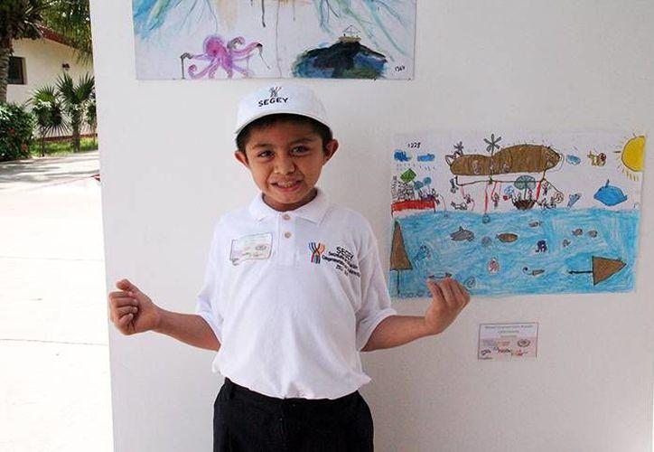Los niños ganadores del concurso de pintura 'El Niño y la mar', de la Semar, obtuvieron diplomas, bicicletas, y un viaje a la Ciudad de México que le permitirá conocer varios sitios de la Armada y viajar en un buque. (Foto de contexto de Milenio Novedades)