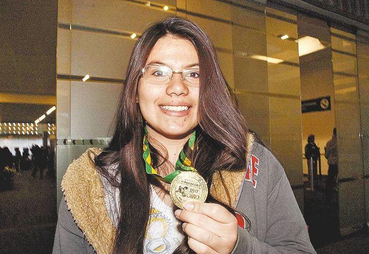 Edith Leal Sánchez, originaria de Jalisco, obtuvo el oro y el puntaje más alto de la competencia. (Milenio)