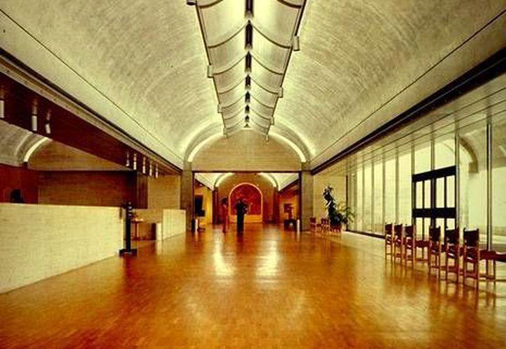 Este es el museo Kimbell donde serán expuestas las piezas mayas. (www.tumblr.com/Archivo)