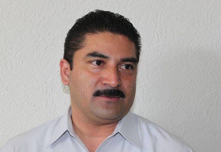 Pedro Escobedo Vázquez, presidente del Colegio de Contadores Públicos de la Riviera Maya. (Adrián Barreto/SIPSE)