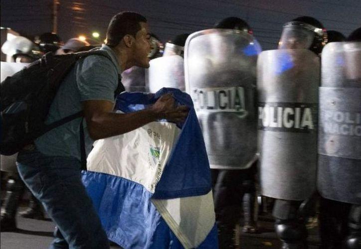 Las protestas dejaron al menos 30 muertos. (Twitter)
