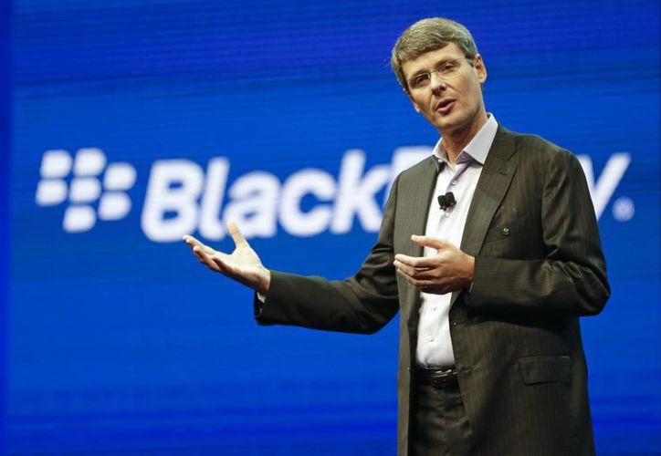Thorsten Heins dejará la presidencia ejecutiva de BlackBerry. (Agencias)